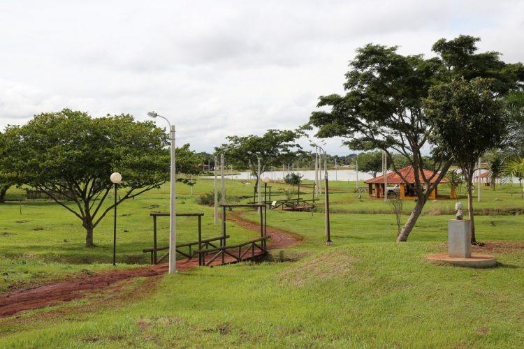 Parque Antenor Martins, no jardim Flórida, em Dourados - Crédito: Foto: Arquivo