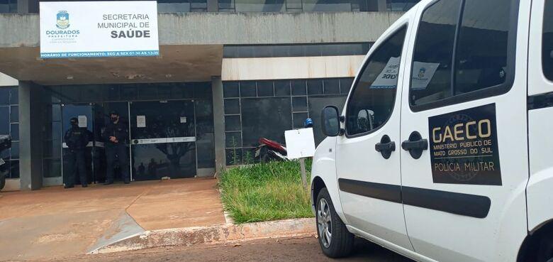 Gaeco realiza oitava operação na prefeitura de Dourados - Crédito: Cido Costa
