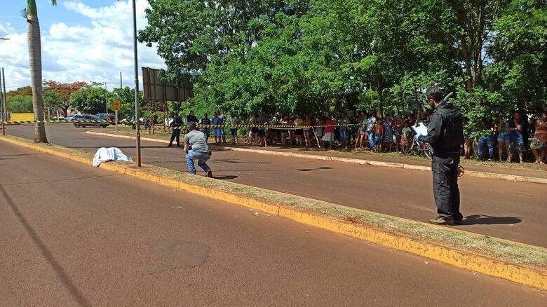 Jovem morre em acidente entre motos na cidade de Rio Brilhante - Crédito: Cido Costa