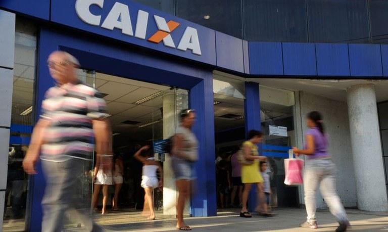 Caixa abre agência em Dourados para saque do auxílio e FGTS neste sábado (7) - Crédito: Foto: Tânia Rego/Agência Brasil