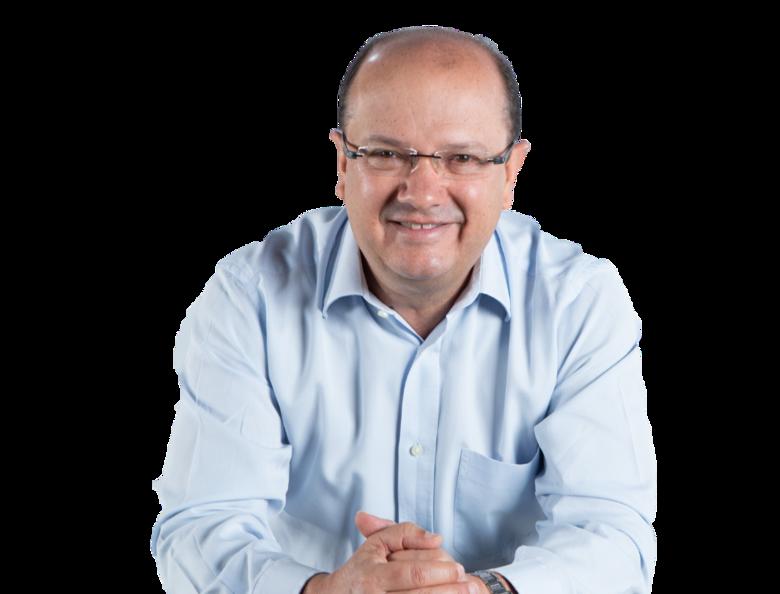Barbosinha é o candidato do DEM com o número 25 - Crédito: Divulgação