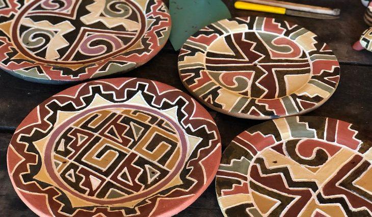 Governo apoia projeto de geração de renda com cerâmicas Kadiwéu - Crédito: Divulgação do Projeto