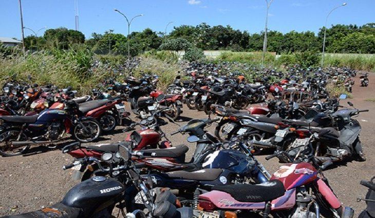 Detran-MS abre três leilões com mais de 700 motocicletas em dezembro - Crédito: Divulgação