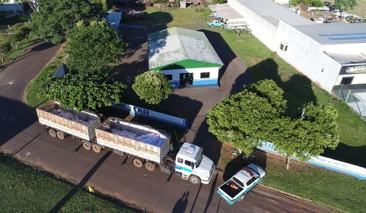 PMA apreende carreta com 12,8 toneladas de agrotóxicos avaliados em mais de R$ 5 milhões -