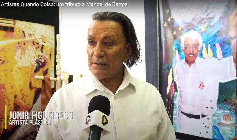 Exposição homenageia poeta sul-mato-grossense Manoel de Barros - Crédito: Reprodução Youtube