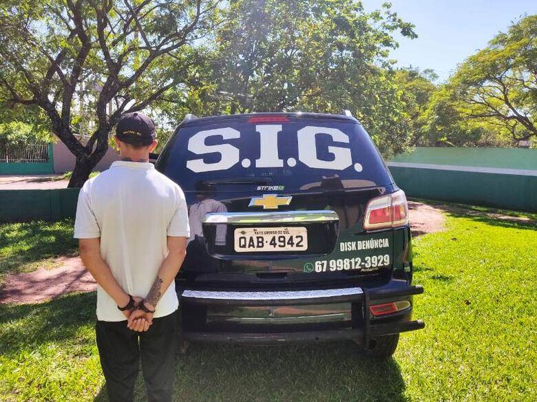 Foragido de Passo Fundo (RS), acusado por homicídio é preso na fronteira - Crédito: Divulgação/PC