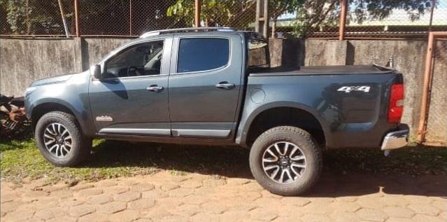 Caminhonete furtada em Bonito no mês de outubro é recuperada na Capital -
