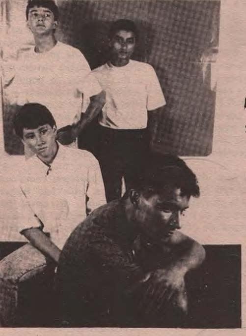 Banda Seita Sutil marcou presença no final da década de 80 - Crédito: Fotos: Reprodução/O Progresso