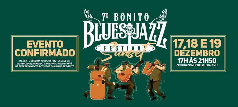 Horário do Bonito Blues & Jazz Festival é alterado em função do decreto do Estado -