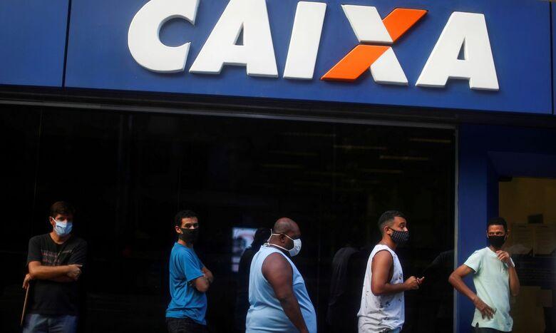 Dourados tem agência da Caixa aberta para pagamento do auxílio neste sábado (5) - Crédito: Marcelo Camargo/Agência Brasil