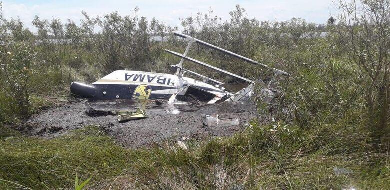 Aeronave do Ibama cai no Pantanal durante combate a incêndio e piloto morre - Crédito: Ciopaer/Divulgação