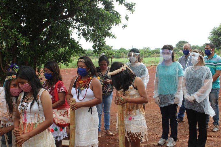 No MS, comitiva visita aldeias e articula ações pelo fim da violência contra mulheres no estado -