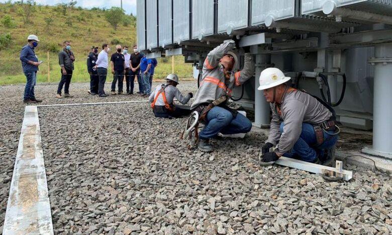 Transformador reserva é enviado a Macapá - Crédito: Divulgação/Ministério de Minas e Energia