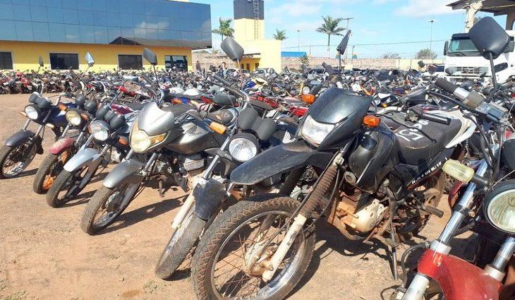 Pátio Zero: Detran-MS abre três leilões com mais de 700 motocicletas em dezembro -