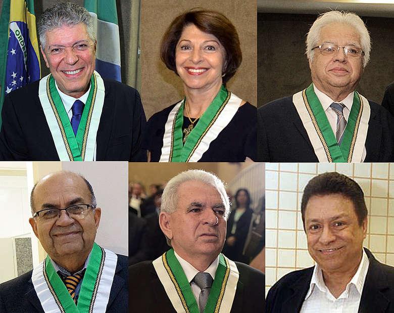 Nova diretoria da Academia Sul-Mato-Grossense de Letras
