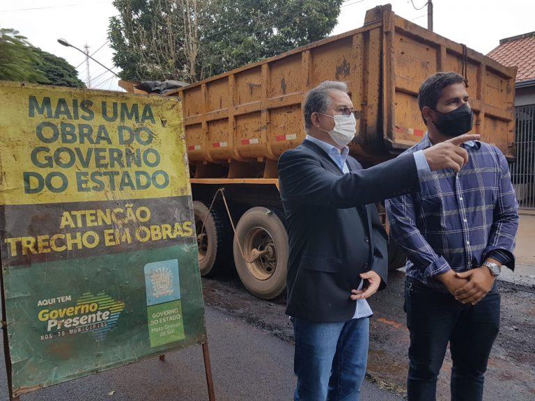 Secretário de Governo Sérgio Murilo esteve em Dourados